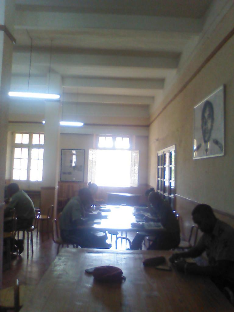 Salle de lecture