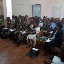 Séminaire Nelly Rakotobe (Magistrat) et Solo Radson (Avocat) avril 2018
