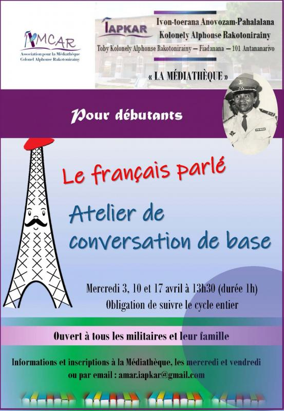 Cours de francais 2019