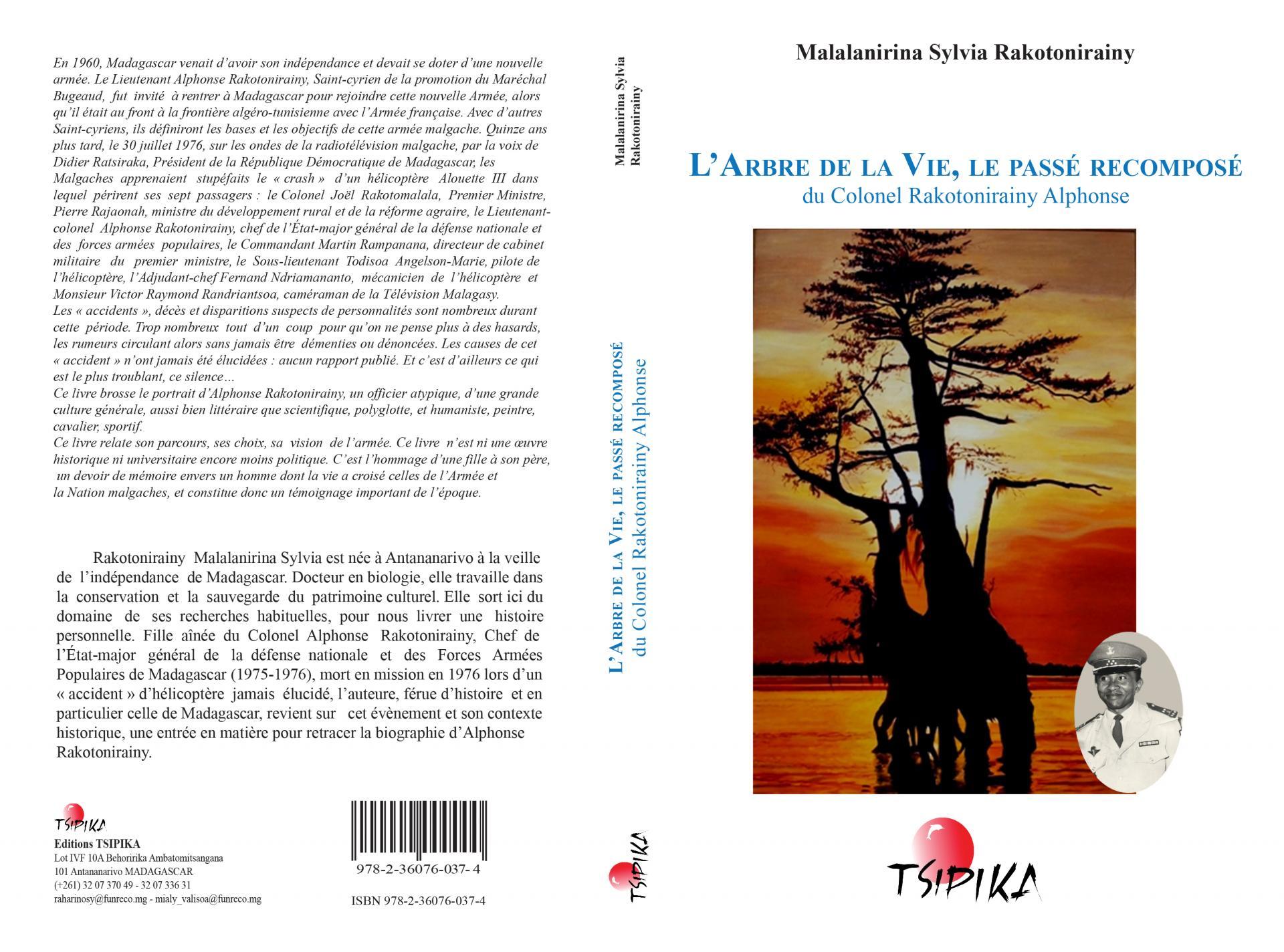 Couverture livre arbre de la vie ms rakotonirainy 2016