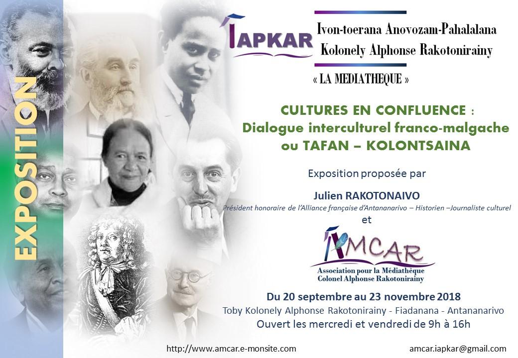 Exposition Confluences : dialogue interculturel franco-malgache